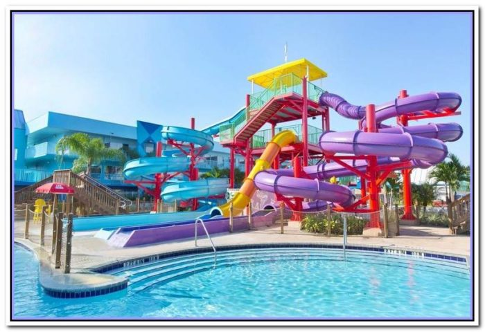 hotel with waterpark