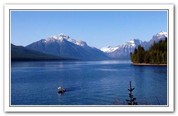 where to kayak in glacier national park