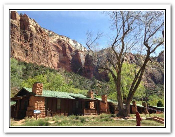 zion national park cabins